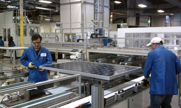 SunPower & Flextronics Factory in Milpitas, CA