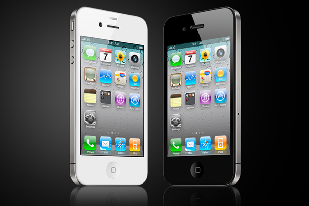 white-black-iphone-4
