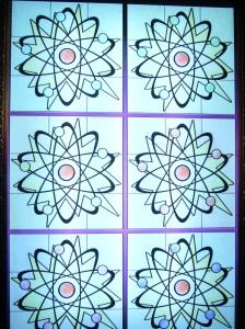 Diagram of atoms