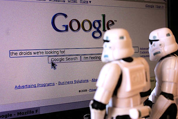 Stormtroopers searching