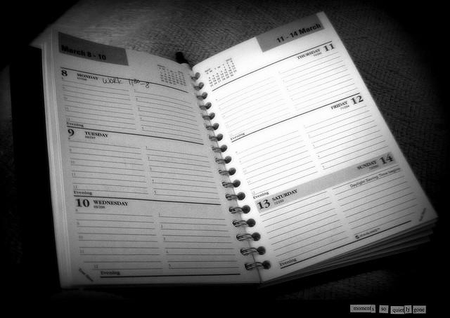Calendar Days Slipping Away