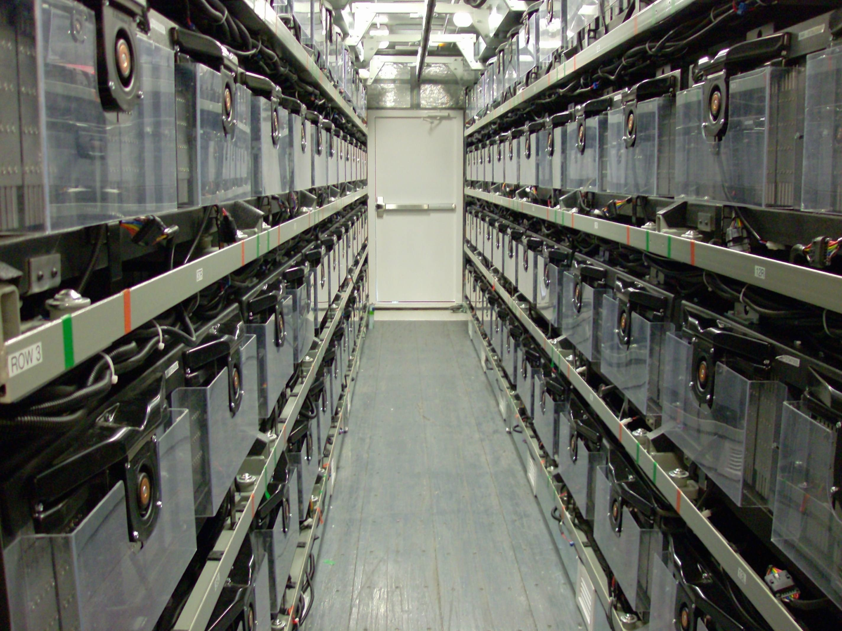 AES Energy Storage battery farm in Barbados. Image courtesy of AES Energy Storage.