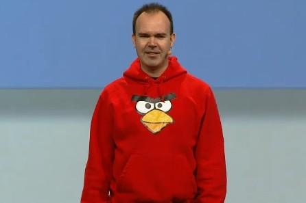 angry birds guy google io