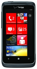 Verizon's first Windows Phone: the HTC Trophy