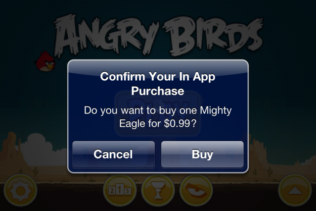 in-app purchases