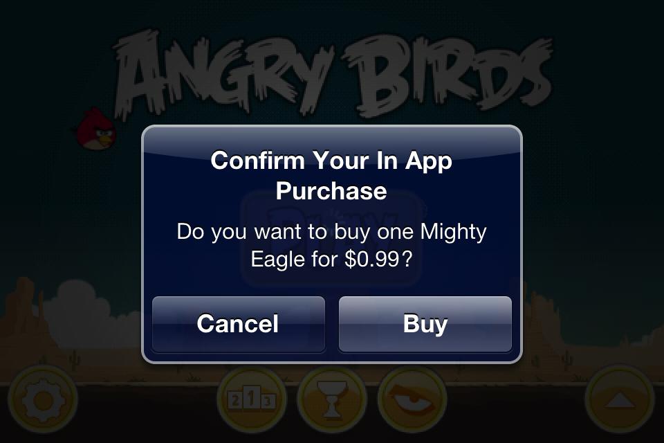 Система In App Purchase позволяет разработчикам приложений