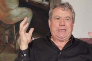 Monty Python's Terry Jones talking to Unbound.co.uk