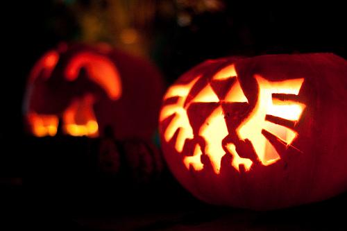 triforce pumpkin