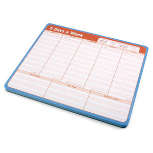 14 Tear Away Planner Mousepad