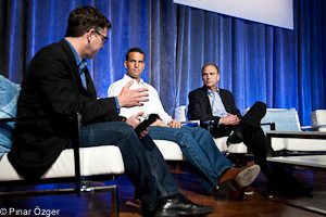 Mike Wolf (GigaOM Pro), Wenceslao Casares (Bling Nation), Rich Lechner (IBM) - Structure 2011