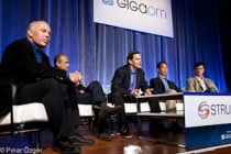 Avery Lyford (Churchill Club), Michael Goguen (Sequoia Capital), Satish Dharmaraj (Redpoint Ventures), Ping Li (Accel Partners), John Vrionis (Lightspeed Venture Partners) - Structure 2011
