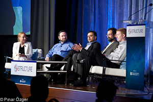 Vanessa Alvarez (Forrester Research), Val Bercovici (NetApp), Dheeraj Pandey (Nutanix), Andres Rodriguez (Nasuni), Dave Wright (SolidFire) - Structure 2011