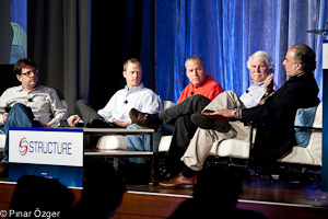 Geva Perry (Thinking Out Cloud ), Mike Miller (Cloudant), Razi Sharir (Xeround), Jim Starkey (NimbusDB), Barry Zane (ParAccel) - Structure 2011