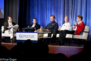 George Gilbert (TechAlpha), Derek Collison (VMware), Michael Crandell (RightScale), Issac Roth (Red Hat), Sebastian Stadil (SCALR) - Structure 2011