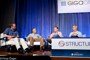 GoGrid CEO and Founder John Keagy, Nimbula CEO and Co-Founder Chris Pinkham, and SoftLayer CTO Duke Skarda - Structure 2011