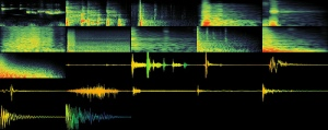 Image of audio waves