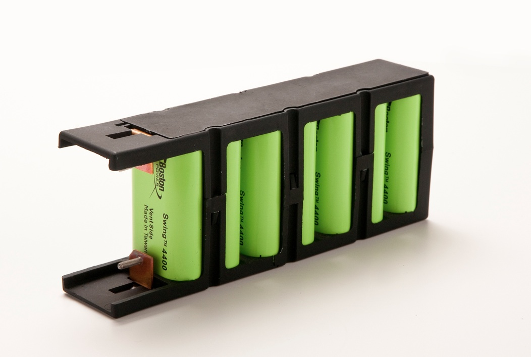 Electric car battery from Boston Power, image courtesy of Boston Power.