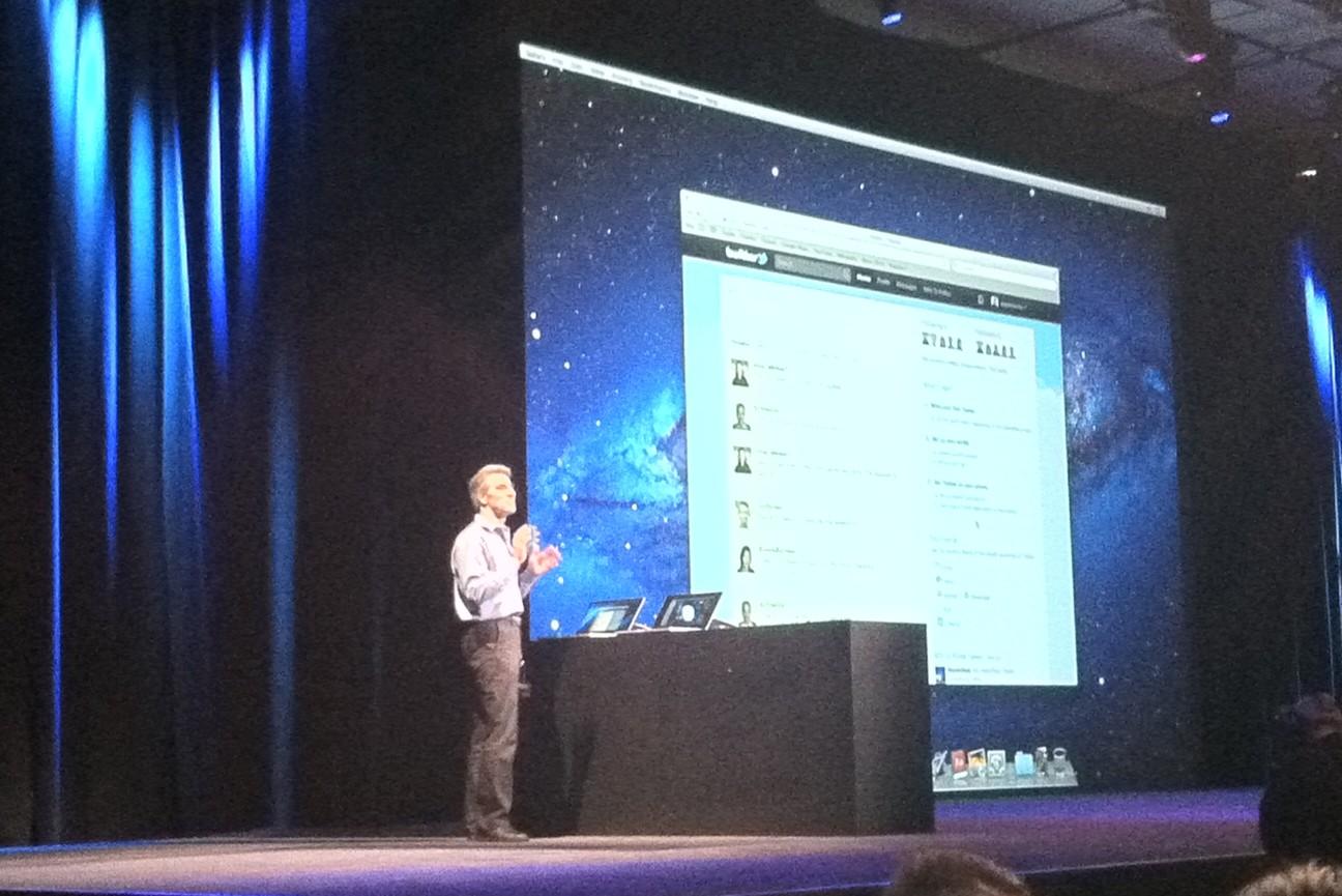 Craig Federighi - WWDC 2011 - Mission Control