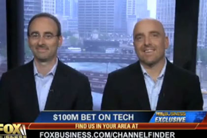 Groupon co-founders Eric Lefkofsky and Brad Keywell: Fox News