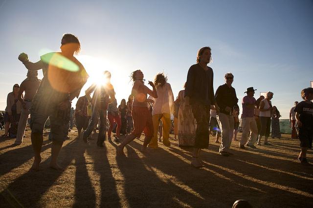 hippie festival