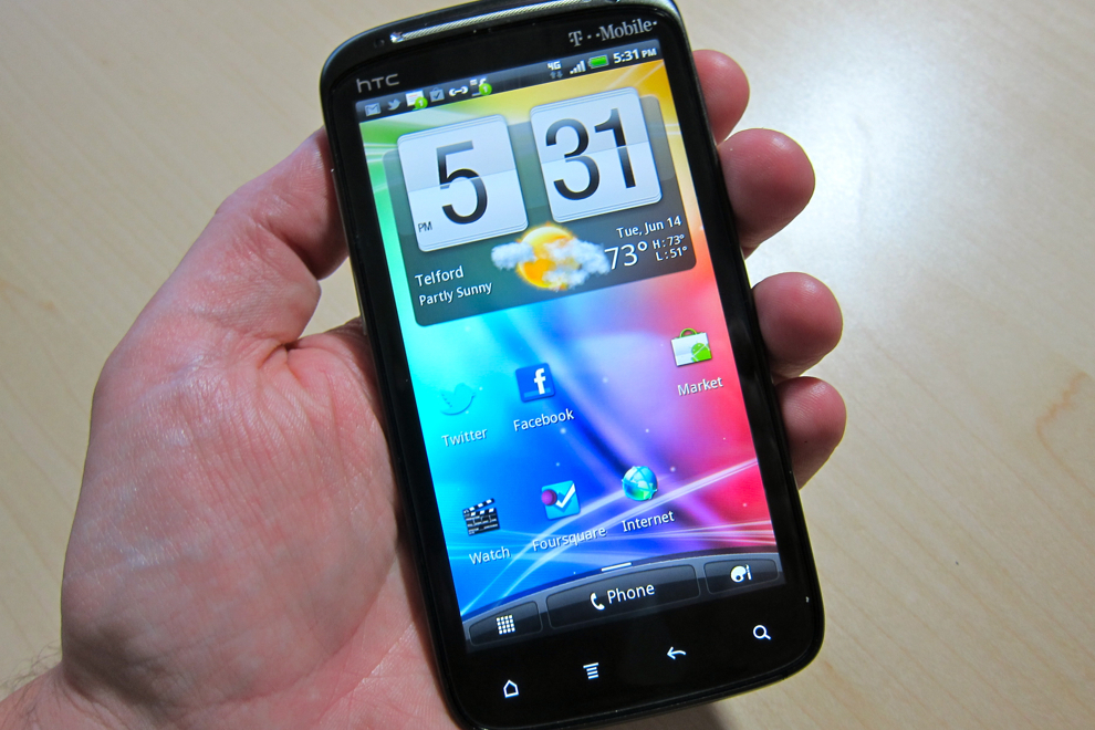 T-Mobile's best phone right now? The HTC Sensation 4G