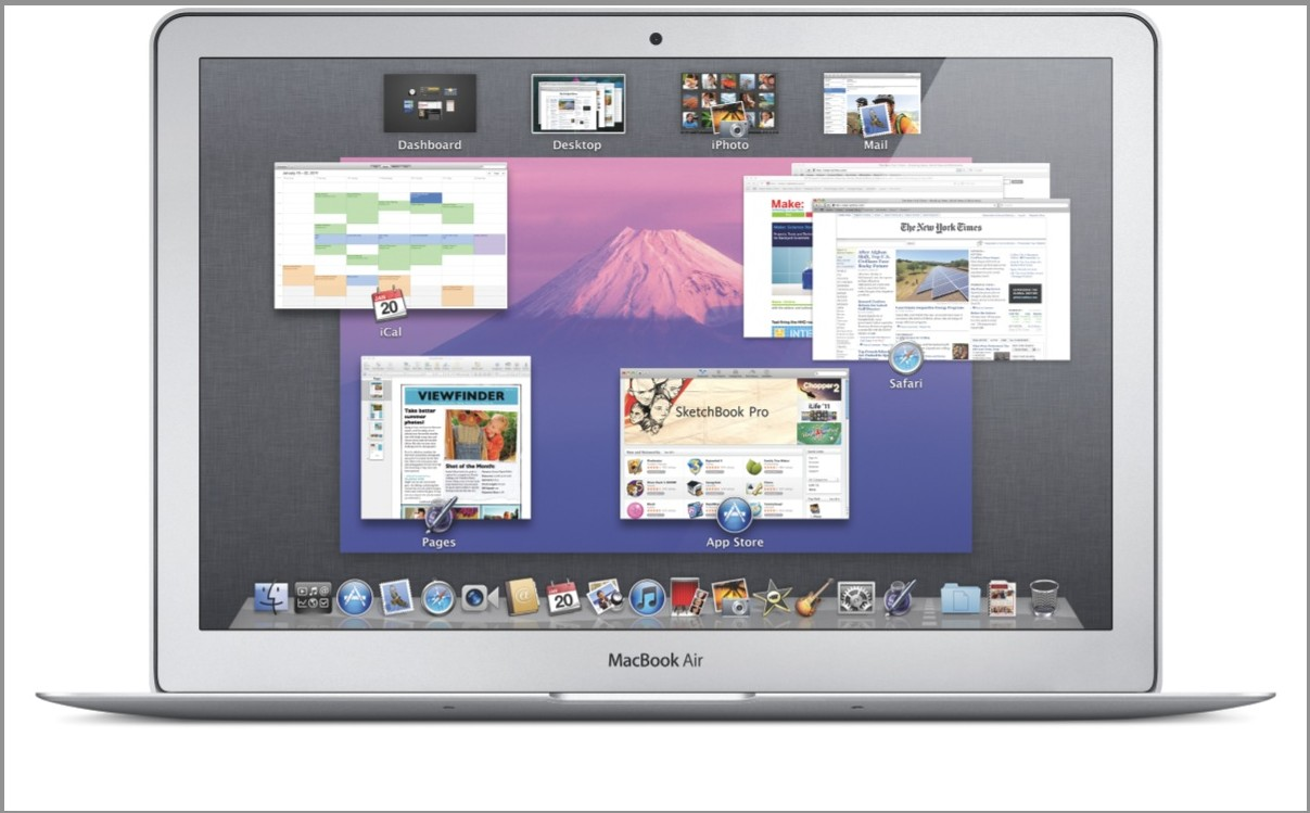Mission Control OS X Lion