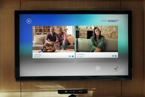 kinect video chat