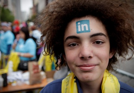 Linkedin Centipedes at 2010 Bay to Breakers