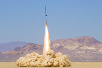 Missile launch by Steve Jurvetson
