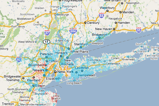 Optimum WiFi Coverage Map