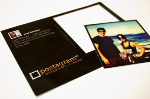 A Postagram postcard