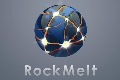 rockmelt logo feature