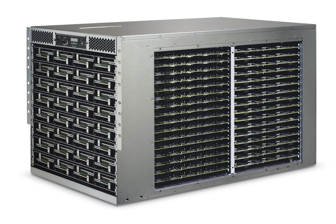 SeaMicro's SM10000-64 server.