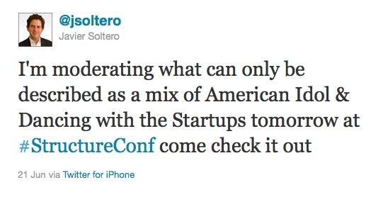 Soltero tweet