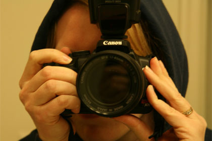 Camera used under CC license by Flickr user Lollyknit