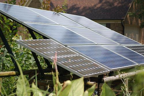 Community solar garden 1