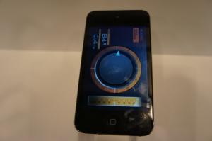 在iPod上使用的太陽能裝置應用程式