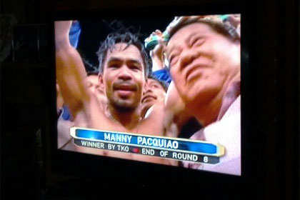 Manny Pacquaio, under Creative Commons license from sjsharktank