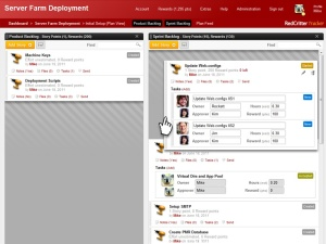 Screenshot of RedCritter Tracker plan page