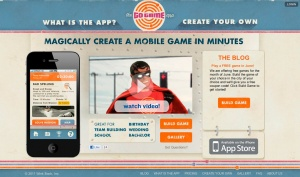 Screen shot of The Go Game App