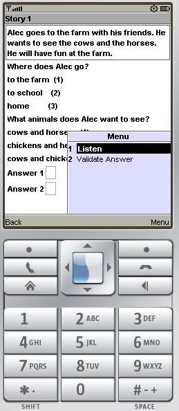 Target First Grade phone app
