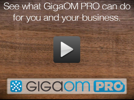 What can GigaOM Pro do for you?