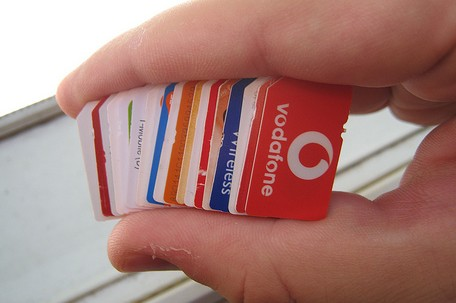 SIM cards galore