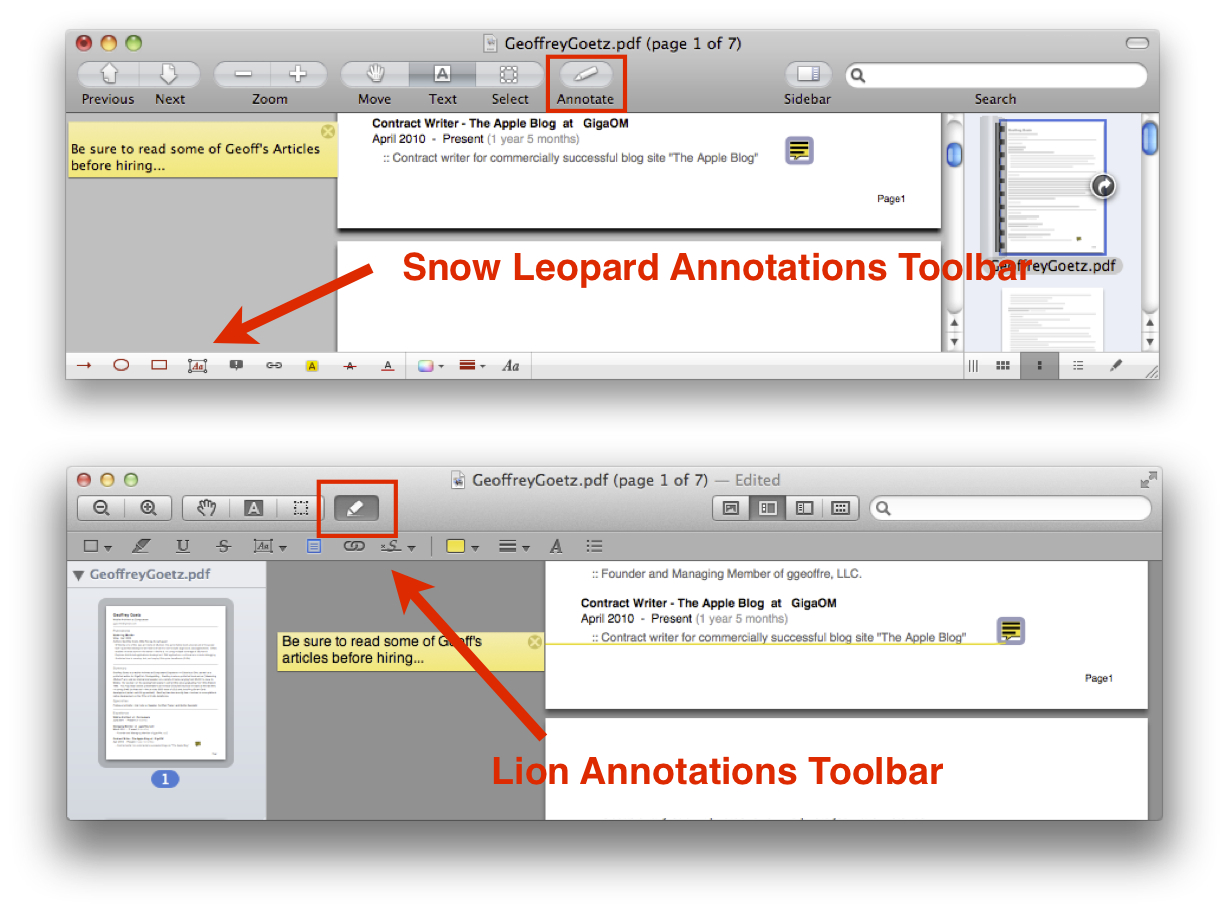 Annotation Toolbar