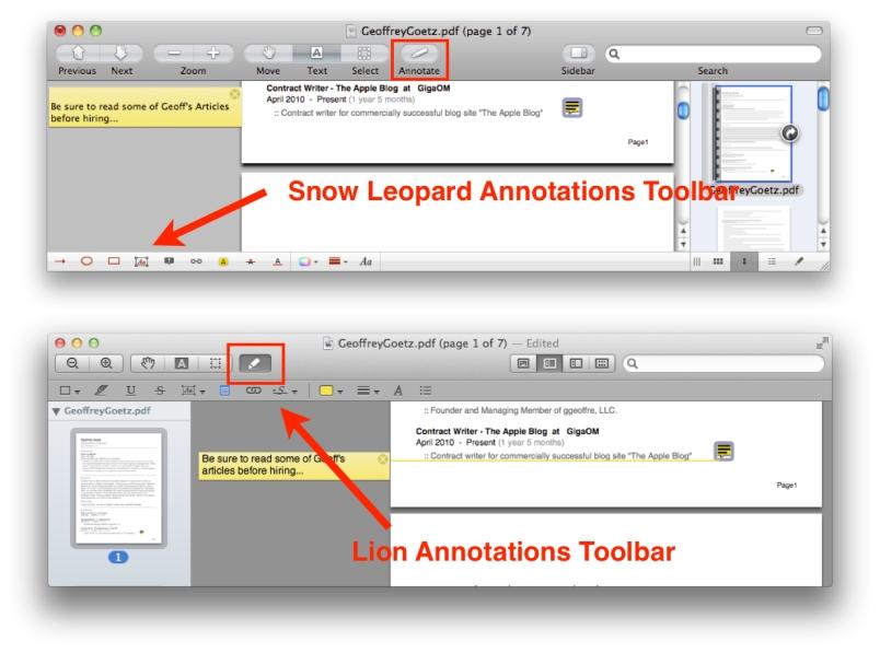 Annotation Toolbar