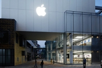 Apple Store Sanlitun in Beijing, China.