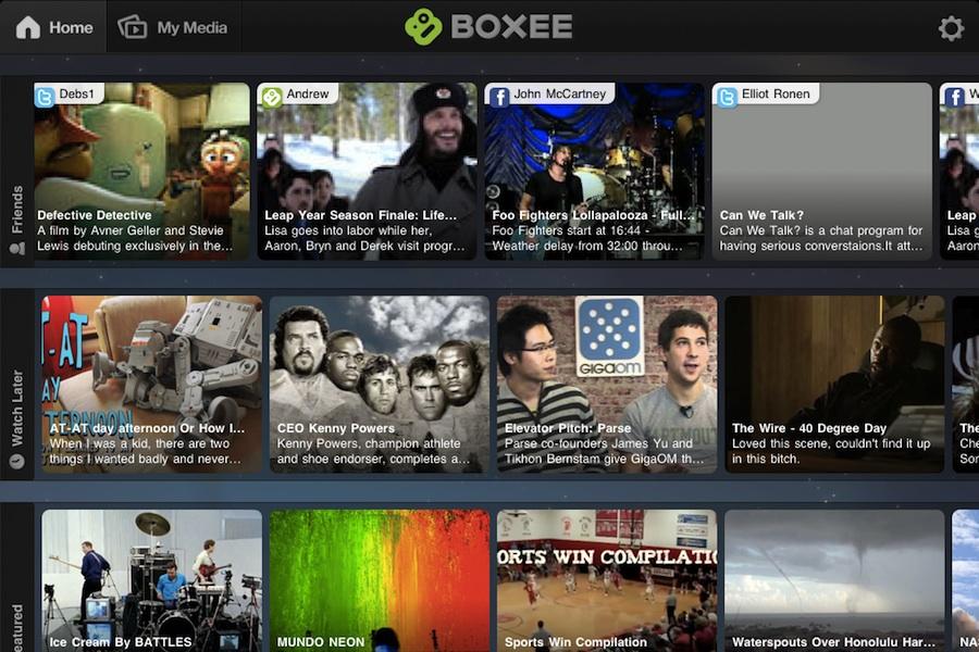 boxee app