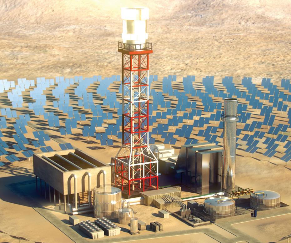 BrightSource Energy storage 2