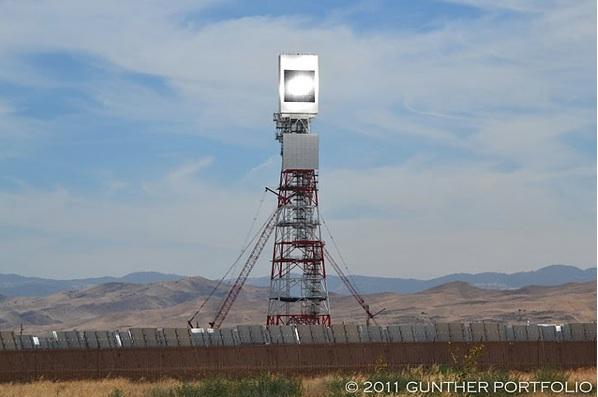 Chevron BrightSource Solar to Steam Project