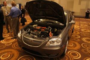 Coda sedan, under the hood